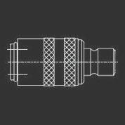 Adapterkupplung mit Nippel