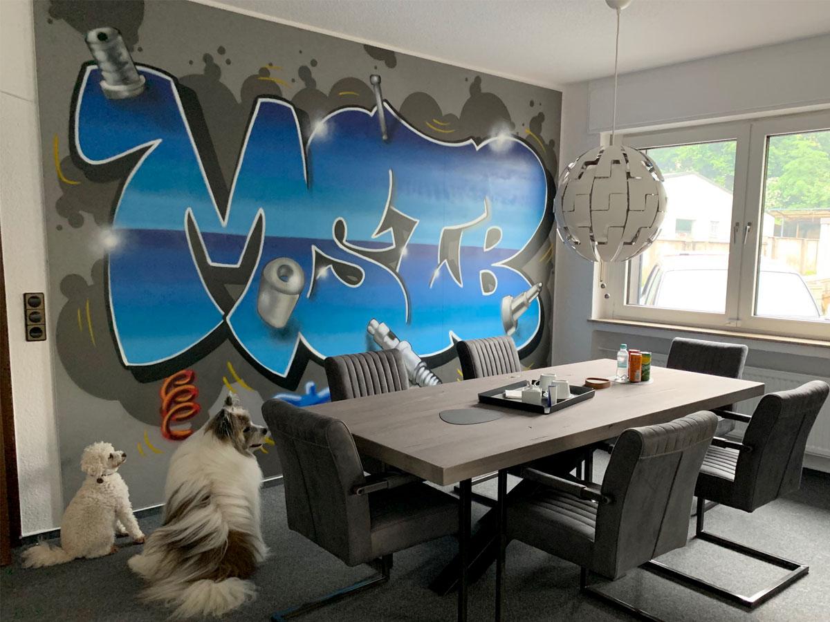 Graffiti Art von Yves Thome